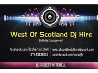 West of Scotland dj hire