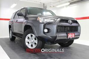 2015 Toyota 4Runner 4WD Btooth BU Camera Cruise Pwr Seats Alloys