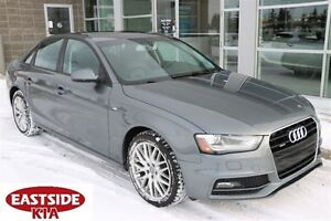 2015 Audi A4 2.0L TURBO AWD LEATHER ROOF