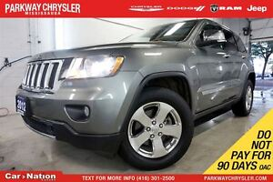 2012 Jeep Grand Cherokee LIMITED| 4X4| NAV| SUNROOF| PWR TAILGAT
