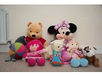 Large Wine the Pooh Disney ,Giant Minnie Mouse Disney and more other toys-free smoking home