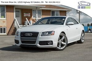 2012 Audi A5 RARE S-LINE  6-SPEED  MUST SEE!