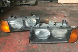 BMW E36 Compact - Headlights.