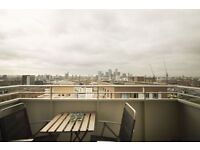 STUNNING ONE BED APARTMENT TO RENT IN BOW - FANTASTIC VIEWS & TERRACE!! E3 - CLOSE TO VICTORIA PARK