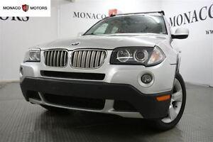 2010 BMW X3 AWD 30i LUXURY PKG PANROOF BLUETOOTH