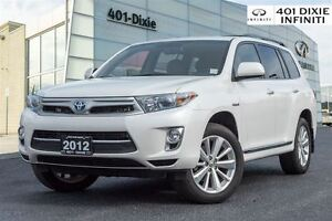 2012 Toyota Highlander Hybrid XLE! Rearview Camera, Bluetooth, H