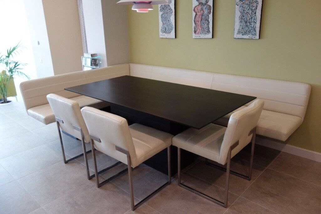 Kitchen Dining Table With Bench And Chairs