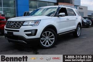 2016 Ford Explorer Limited - Navigation, Sunroof, Heated Seats