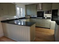 Female interior decorator, painting, wallpaper, fitted, free standing furniture inc kitchens + more