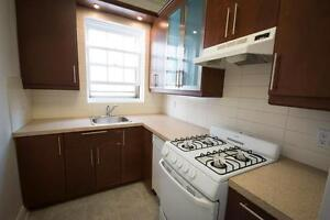 NDG - Large 3 1/2 with RENOVATED KITCHEN on Sherbrooke W