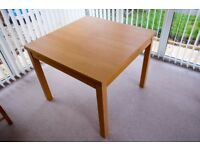 Oak Veneer Extendable Table