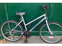 18 inch Coventry Eagle Vision MTB pink ladies bicycle mountain bike cycle
