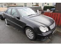 Mercedes C200 CDI C-Class Sport Edition Automatic 2.1 diesel black saloon