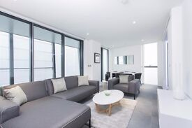 Ultra Modern 2 Bed 2 Bath Apartment in Dollar Bay, moments to Canary Wharf, Gym, Concierge- VZ