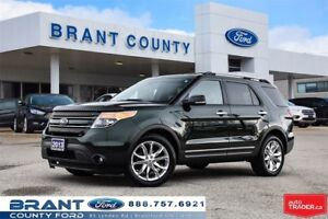 2013 Ford Explorer Limited - CLEAN CARPROOF, NAV, ROOF!