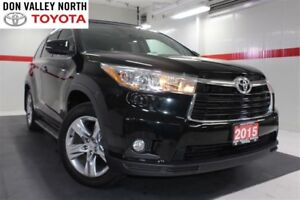 2015 Toyota Highlander LIMITED AWD V6 Sunroof Nav Btooth Heated