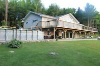 Home with acreage and pool for sale in Bancroft
