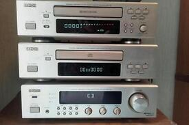 Denon cd/tape/radio hifi system