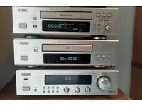 Denon cd/tape/radio hifi system