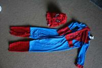 Spider Man costum for 5-6yr old