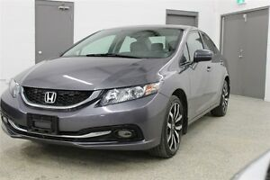 2015 Honda Civic Touring - Accident free, Navigation, Leather, H