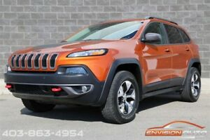 2015 Jeep Cherokee TRAILHAWK 4x4 \ ONE OWNER \ SPOTLESS HISTORY