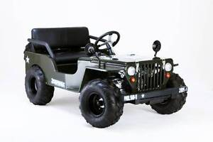 MINI WILLYS JEEP 150cc BRAND NEW ASSEMBLED READY TO GO Dirranbandi Balonne Area Preview