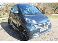 SMART FORTWO COUPE Grandstyle 2dr Softouch Auto 84 (black) 2014