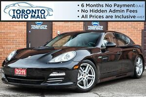 2011 Porsche Panamera 4S+AWD+TURBO WHEELS+SPORT CHRONO+NAVI+CAME