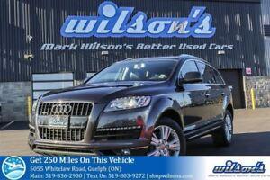 2014 Audi Q7 PROGRESSIV NAV! SUNROOF! DUAL DVD! FRONT+REAR HEAT