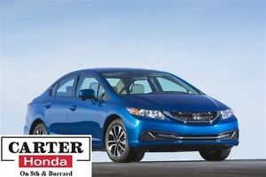 2015 Honda Civic EX + LOCAL + NO ACCIDENTS + CERTIFIED!