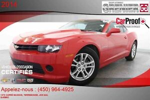 2014 Chevrolet CAMARO 2LS *MAGS + CRUISE CONTROL + CLIMATISATION