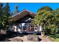 **REDUCED** Luxury 5* detached lodge at Cameron House, Loch Lomond. 26/8-2/9/18, sleeps 2(4)