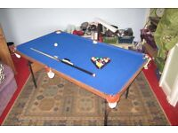 Pool & Snooker Table (foldable)