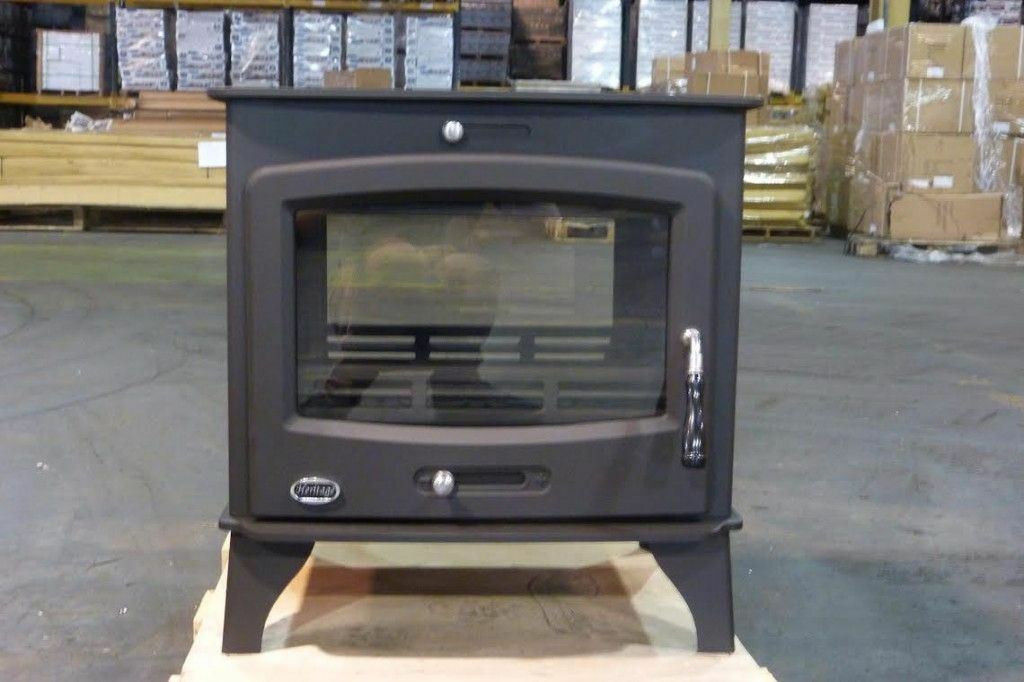 DOUBLE SIDE MODERN STOVE 9KW multi fuel woodburner wood burner multifuel  fireplace sunroom kitchen | in Lurgan, County Armagh | Gumtree - DOUBLE SIDE MODERN STOVE 9KW Multi Fuel Woodburner Wood Burner