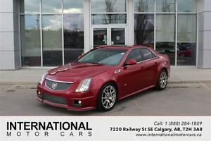 2010 Cadillac CTS-V VERY RARE! NAVI! LOADED!