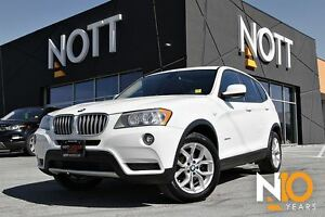 2013 BMW X3 xDrive28i, Navigation, Pano Roof, Heated Seats