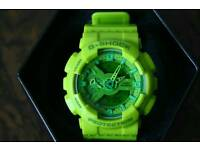 Casio G-shock Ga110 hyper green watch nixon sport