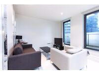 Luxury Studio in Baltimore Wharf, Canary Wharf, E14, Gym, Concierge, 1 min to DLR station- VZ