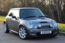2006 MINI COOPER S ONLY 89K MILES! CRUISE CONTROL! 7 STAMPS! PART LEATHER! 2 OWNERS!