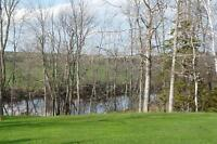 328' WATERFRONT! 295' ROAD FRONTAGE! 10.5 ACRES!  PART 1