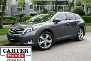 2014 Toyota Venza V6 + LIMITED + NAVI + AWD + LOCAL!