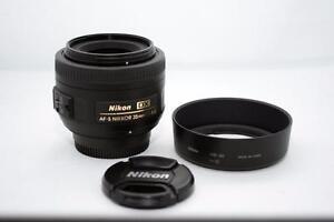 Nikon AF-S 35mm f1.8 G DX Prime Lens