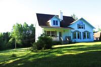 4 Bedrooms, 5 Acres, Walk Out Basement, Piece of Paradise!