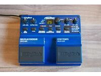 DIGITECH JAMMAN Looper Pedal / Sampler - Excellent condition. Complete with SD card & power supply