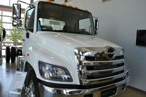 2017 Hino 358 Cab & Chassis. Includes our 3 year mainten