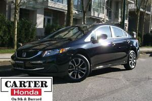 2015 Honda Civic EX + NO ACCIDENTS + CERTIFIED 7YR!