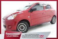 2014 Mitsubishi Mirage ES* MAGS+ GROUPE ÉLECTRIQUE+ RAIDO CD/MP3