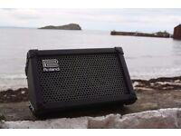 Roland Cube Street (StreetCube), Black guitar amp for half price + microphone line!