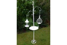 Ornate large bird feeder and bird bath NEW